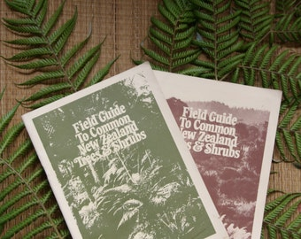 New Zealand Field Guide. NZ Tree Shrub book. NZ nature guide. Aotearoa plant guide. Maori plant guide. New Zealand Tramping. NZ Conservation
