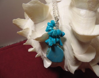 Gorgeous Turquoise Summer Necklace
