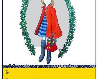 Illustration gift voucher