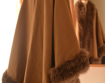 Pure Cashmere and Fox. Real Fur Vintage is Back