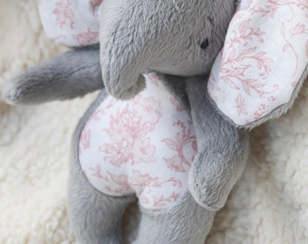 Elephant Toy- Tati Cuddle  Baby Elephant- Toy Elephant-Stuffed Animal