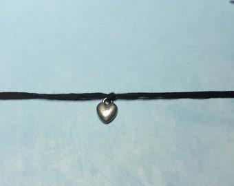 Friendship Heart Bracelet~Make a Wish Bracelet-Good Friend Jewelry-Heart jewelry-Heart BFF Bracelet-Best Friend Bracelet-HEART CHARM