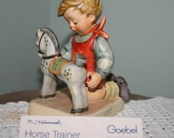 Hummel Horse Trainer Collectible Figurine