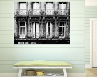 french window print brown sepia france by gcfphotography on etsy. Black Bedroom Furniture Sets. Home Design Ideas