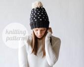 Ozetta Alpine Fair Isle Knit Hat Pattern Instant Download