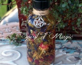 SPIRIT OF MAGIC™ Custom Ritual Oil - Personalized Alchemical Oil Potion - Uniquely Blended & Individualized Just For You - Choose Size