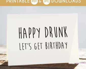 funny birthday card, funny printable card, sarcastic birthday card, happy birthday card, funny birthday wishes