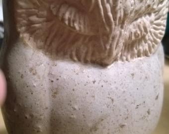 Owl Figurine Danish Sculpture