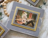 Distressed Picture Frame | Distressed Wood | Picture Frame 5x7