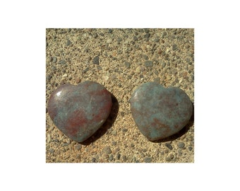 Ruby Kyanite Heart