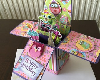 Birthday Explosion Card