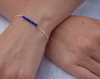 Swarovski bead bracelet - Sterling Silver