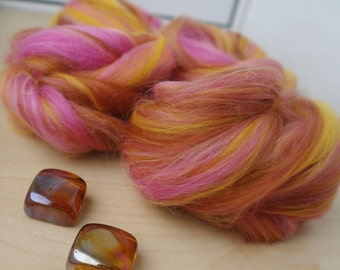 Fiber Nests Roving for Spinning or Felting