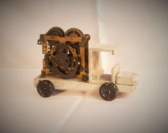 Toy Clockwork Truck