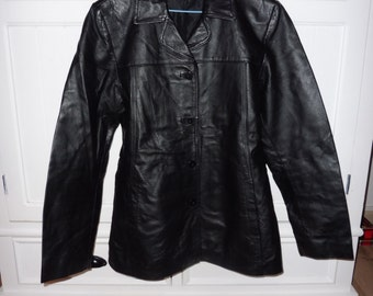 Size 42 leather jacket