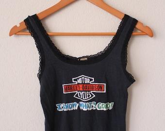 VINTAGE HARLEY-DAVIDSON tank top shirt women's