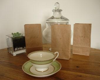 20 x Personalised brown paper bag