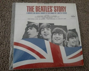 The Beatles' Story (Double Vinyl Record) 1967