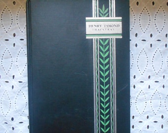 Henry Esmond by W. M. Thackeray. Hardcover. Universal Library. Rare edition. not dated circa 1930s. Historical Novel.