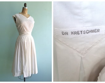 Vintage 1950's Doctor's Uniform | Size Small