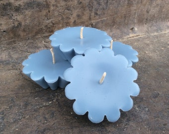 floating candles. wedding centerpiece. wedding decorations. Wedding candles. Navy candle. Bridal shower. Pool candles. Garden party.
