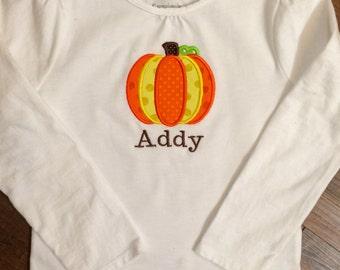 Toddler Fall Pumpkin Shirt