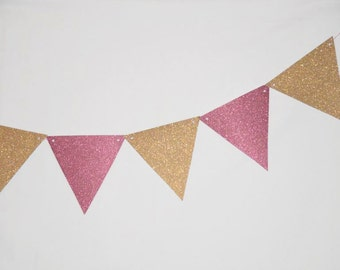 Bunting Triangles/Flags - Any Colour
