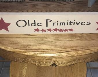 Olde Primitives