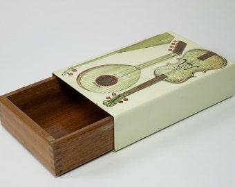 Fornasetti musical instrument box. Music