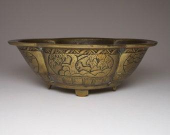 Antique 19th c. Chinese bronze censer incense burner