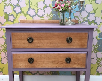 Pretty 'Emily' two drawer chest