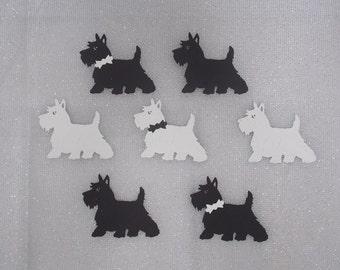 5 Handmade Lovely Scotty Dog Toppers