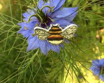 Bumble Bee Brooch