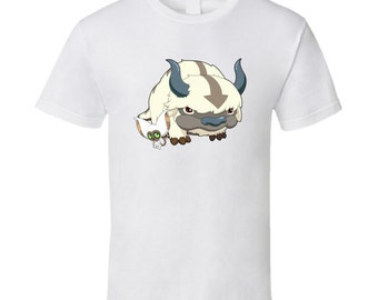 Avatar - Appa and Momo - White T-Shirt