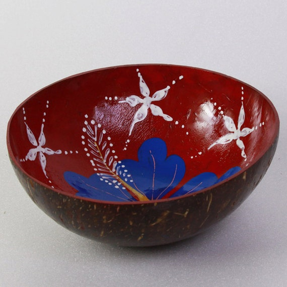 Classic Oriental Decorative Multipurpose Handmade Coconut Shell Bowl (PC 14)