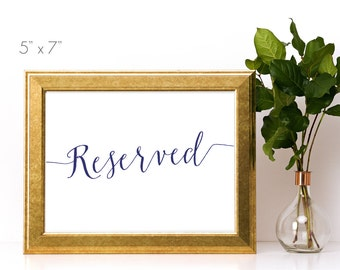 Reserved Template Etsy