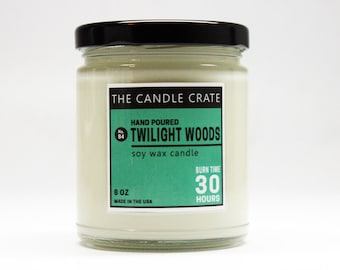 Twilight Woods Scented Soy Wax Candle
