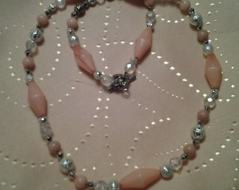 Beaded necklace, unique necklace, one of a kind necklace