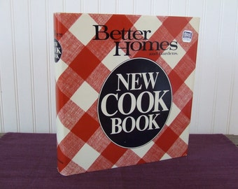Better Homes and Gardens New Cook Book, Vintage Cookbook, 1984