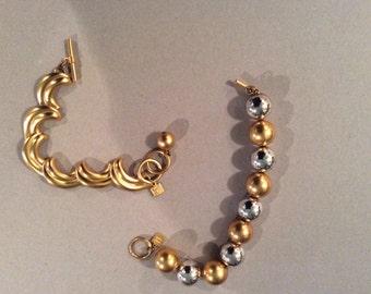 Anne Klein bracelets X two