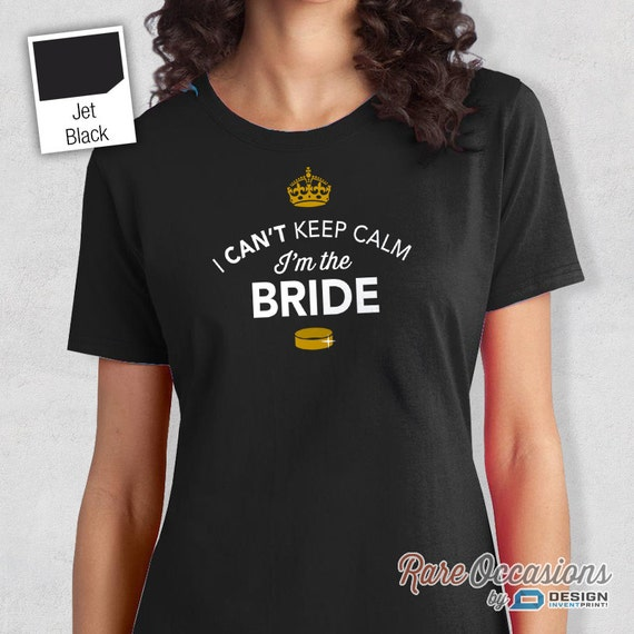 Bride to be getting married bride shirt funny by rareoccasions for Funny getting married shirts