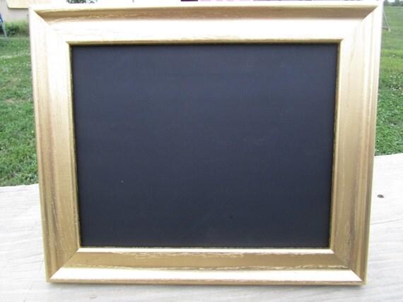 gold frame chalkboard 8 x 10 chalkboard 8x10 gold frame