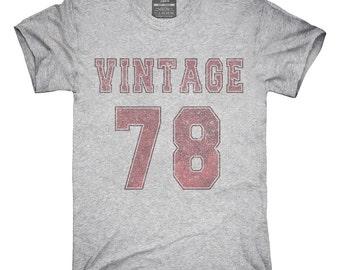 1978 Vintage Jersey T-Shirt, Hoodie, Tank Top, Gifts