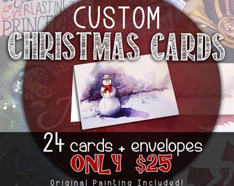 Christmas Card design - file only