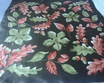 REDUCED - Vintage autumn decorative scarf (03097)