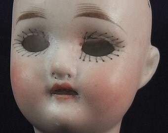 antique geramn bisque doll head, Limbach, SK 15, 1.92""