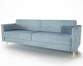 Slipcover for Ikea 3 seat Karlstad bed sofa