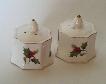 Salt and Pepper Shakers, Holiday Salt and Pepper Shakers, Dining Table, Christmas Gift, Holiday Gifts, Christmas Salt and Pepper Shakers,