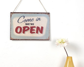 Vintage Style Open sign