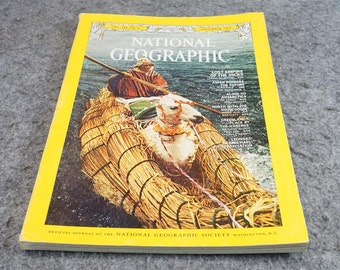 National Geographic Magazine 1973 December